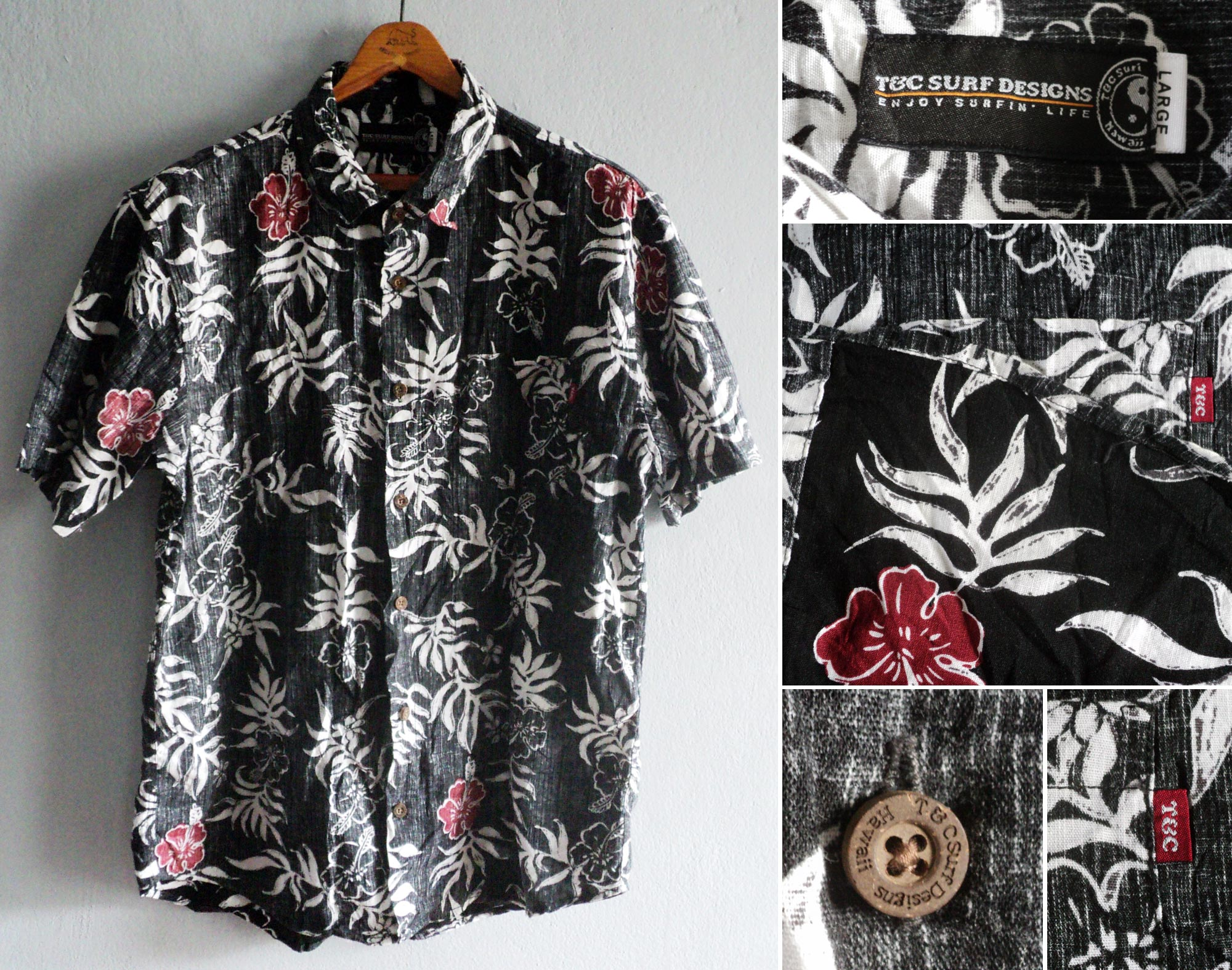 Hawaii, Town-and-Country, Surf, Designs, L, kzyshop