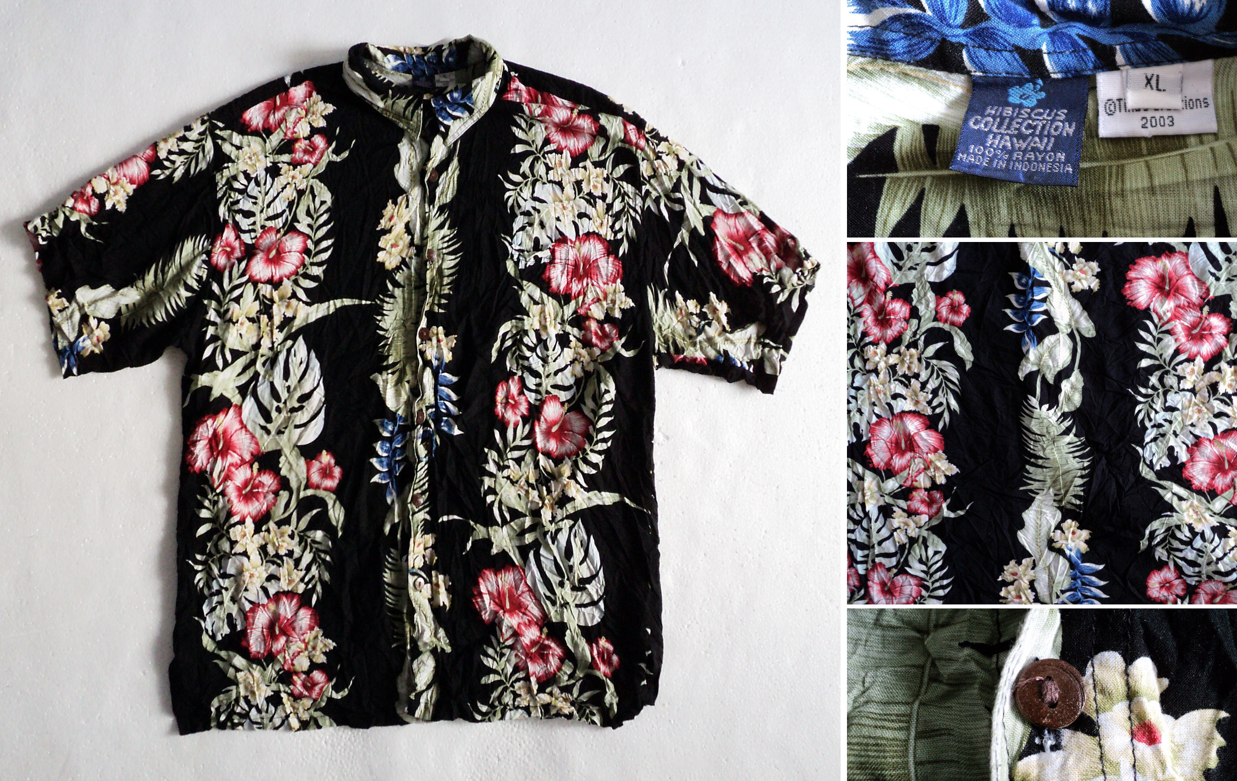 Hawaii, Hibiscus-Collection, front, XL, kzyshop
