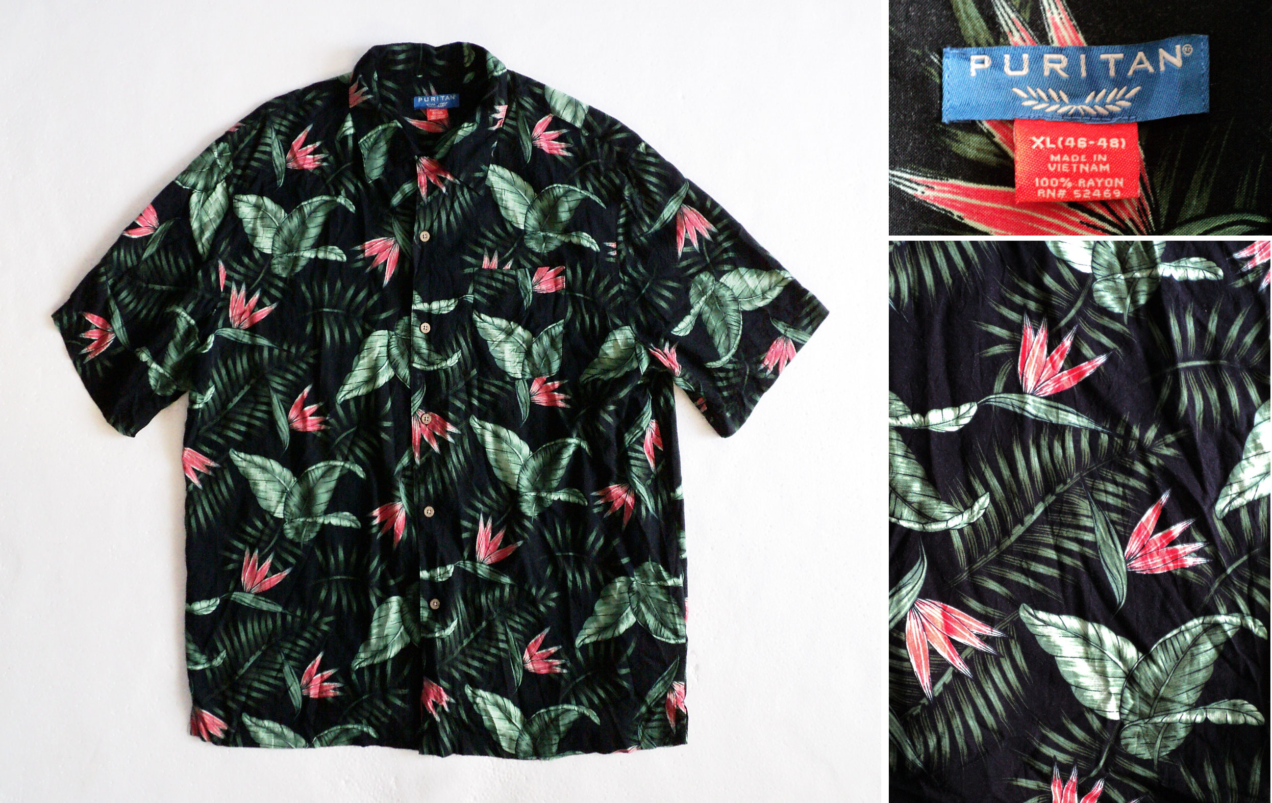 Hawaii, puritan, 12, XL, kzyshop