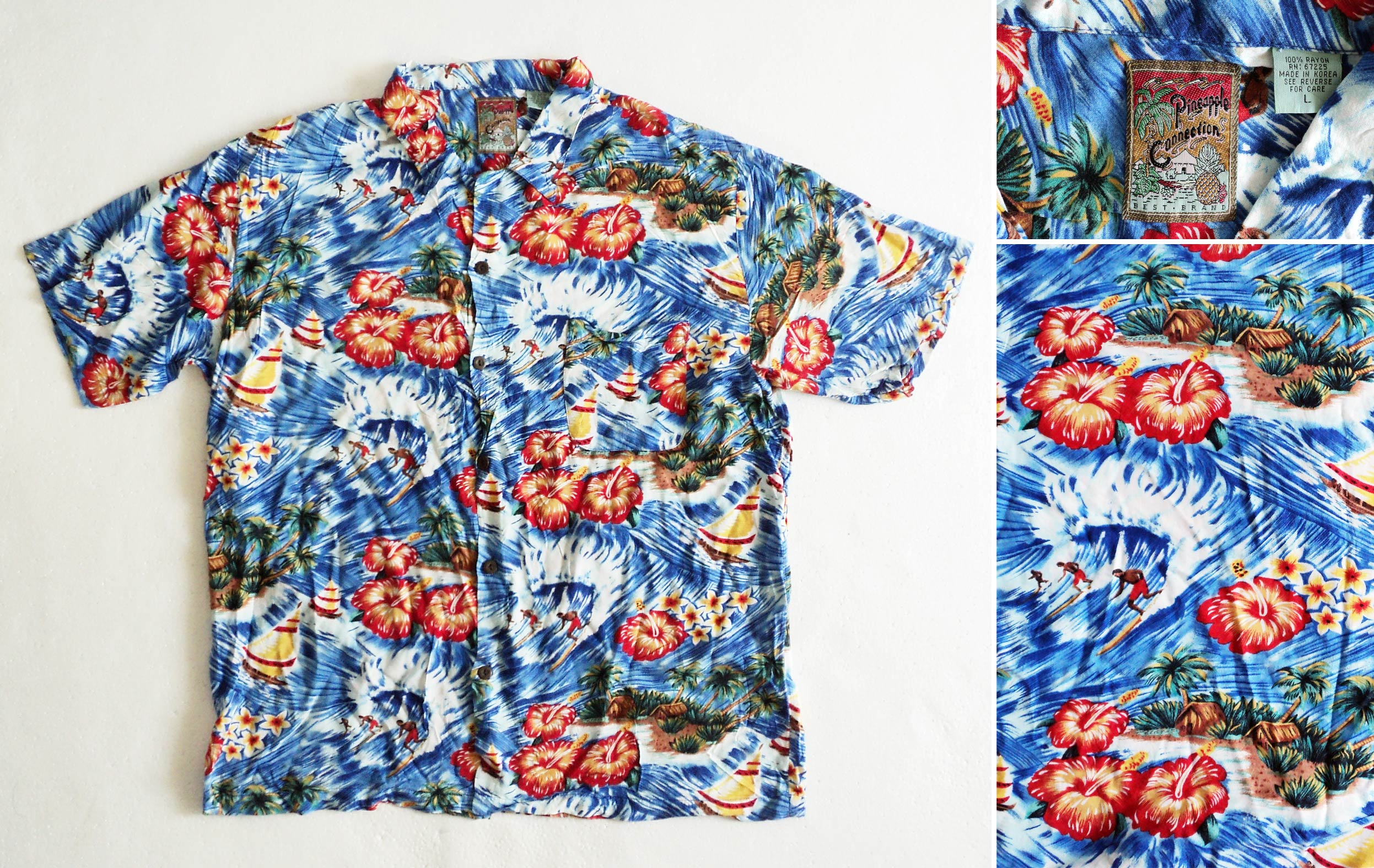 Hawaii, Pineapple-Connection, 2, L, kzyshop