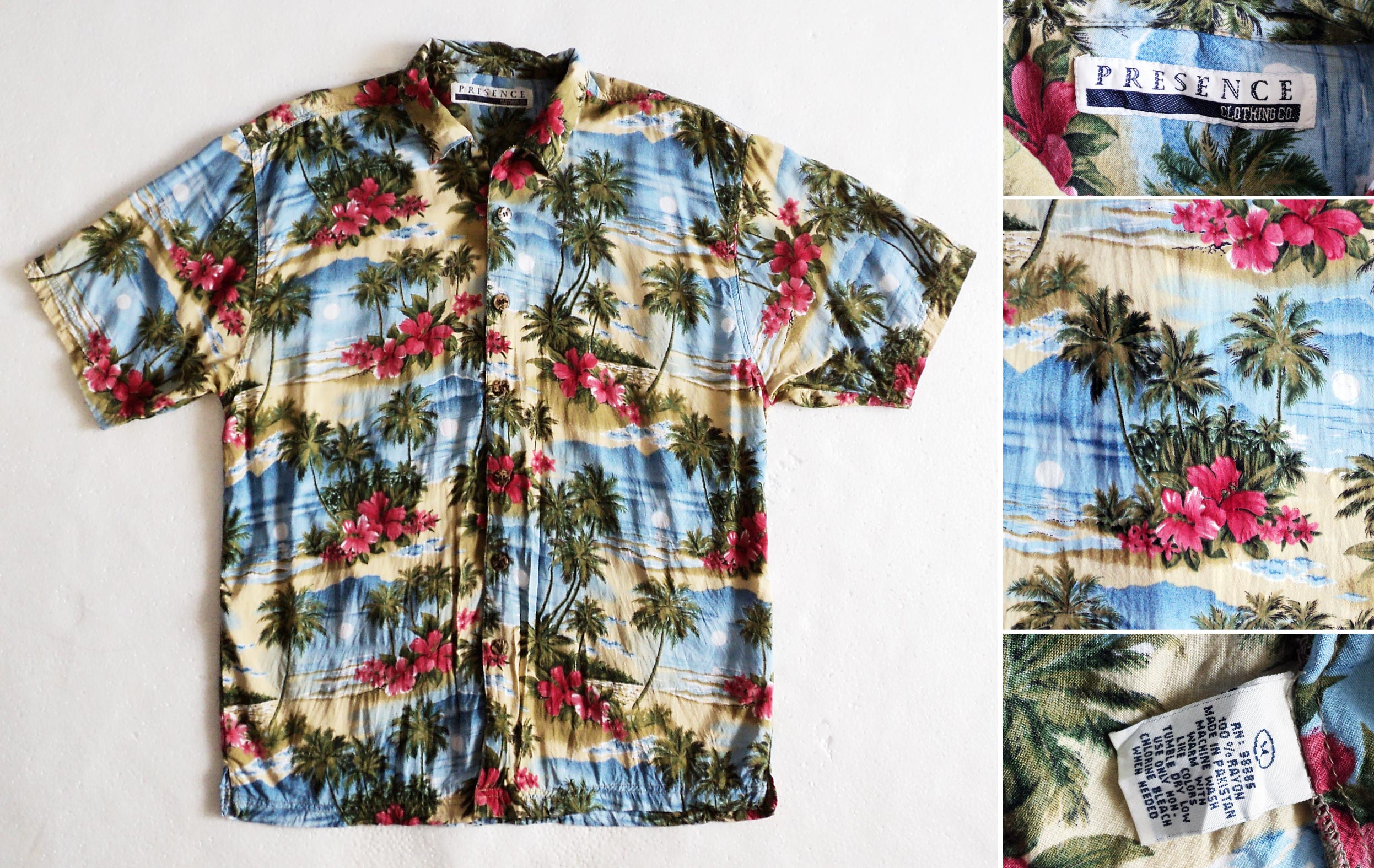 Hawaii, PRESENCE-Clothing-co., 3, m, kzyshop