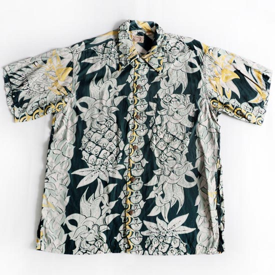 เสื้อฮาวาย EAST WIND SUN SURF - Vertical Pineapple