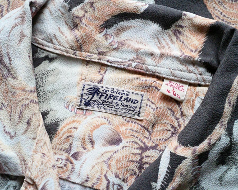 FIRELAND made by Sun Surf – ONE HUNDRED TIGER