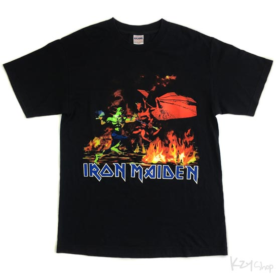 เสื้อยืด IRON MAIDEN - WELCOME TO ARMAGEDDON
