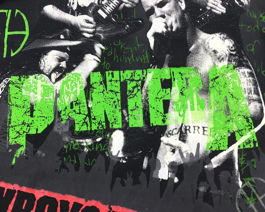 VINTAGE 90s PANTERA - COWBOYS FROM HELL
