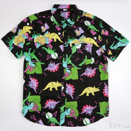 MTV Dinosaur Button Down Shirt