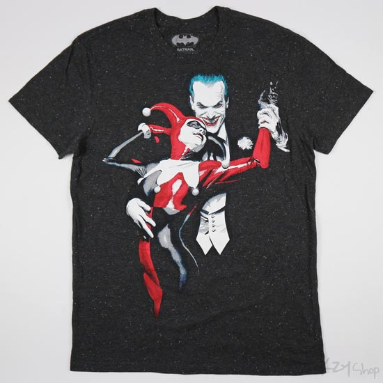 เสื้อยืด BATMAN - Joker & Harley Quinn