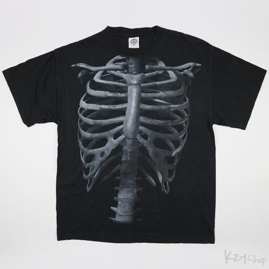 เสื้อยืด JSR MERCHANDISING - Skeleton Anatomy