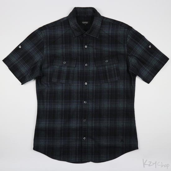 BURBERRY BLACK LABEL - short sleeve shirt
