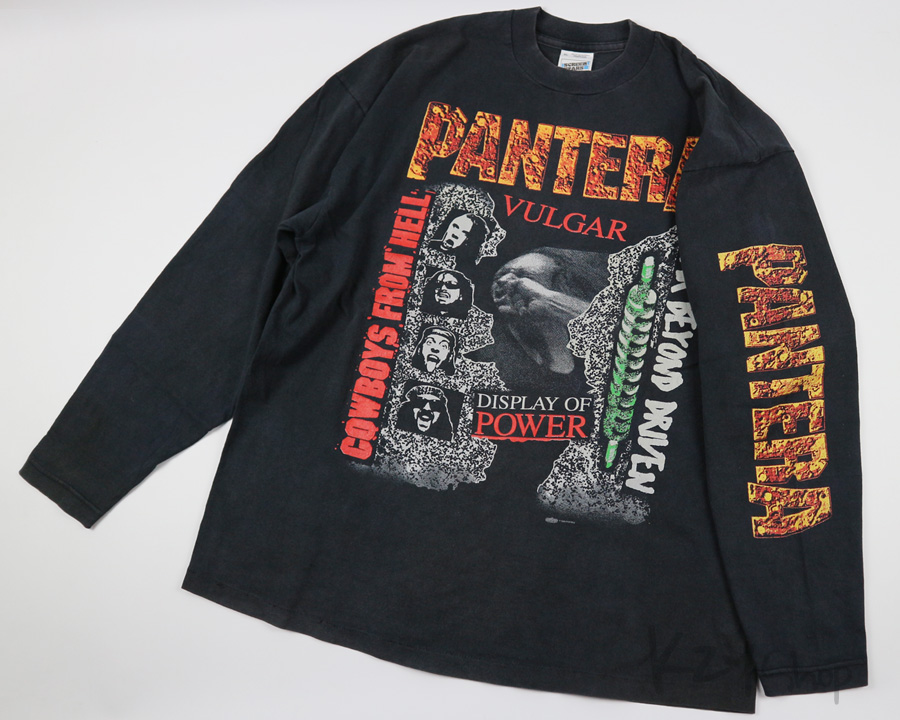 VINTAGE 90s PANTERA - FORVER STRONGER THAN ALL