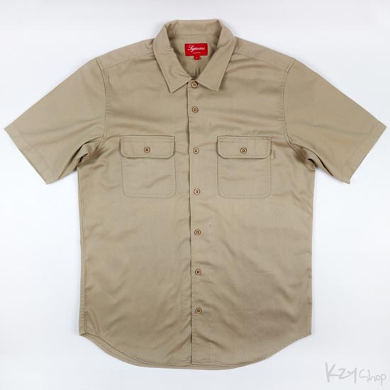 Supreme - Short Sleeve Work Shirt